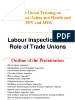 Inspection Trade Unions