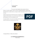 Cosmogonia Masonica 7 Maestros Masones