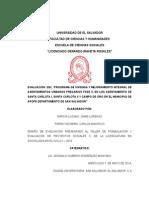 Diseño de Investigacion Del MIAUP