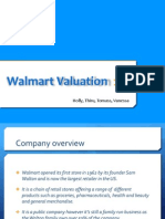 Walmart Valuation