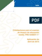 Guia Pre Saber 11 2014-1 (1)
