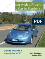 Living with a Plug-in Electric Car in Canberra