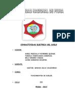 Conductividad Eléctrica informe N°07 suelos