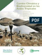 Cambio Climático y Biodiversidad en Los Andes Tropicales - Herzog Et Al 2011