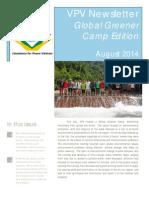 Green Camp Newsletter