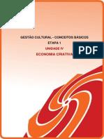 Unidade IV Economia Criativa 1