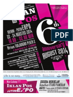 Iklan Pos Agustus 2014