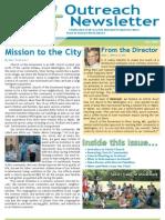 Outreach Newsletter Fall 2009