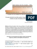 Silva e Magalhães (2014) Percepção Ambiental de Macrófitas Aquáticas e Impactos Ambientais