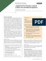 Vacuna VPH revision evidencia Aten Primaria 2008
