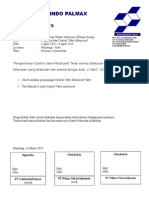 Berita Acara PT. Wilmar - Pelintung_Motorized Valve