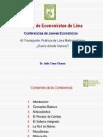 El Transporte Publico de Lima Metropolitana[1]