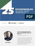 25entrepreneurslessonslearned-140325101942-phpapp01