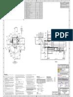 B0054832-4 Erection Arrangement DRB-XCL PC Fired Burner C.C.W