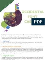 Sunsilk 3Dot Occidental Font Cascade[1]