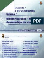 MOTORES DE COMBUSTIÓN INTERNA 16 MANTENIMIENTO - MONTAJE Y D
