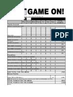Challenge Scorecard