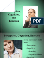 Perception, Cognition & Emotion