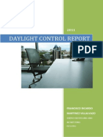 Daylight Control Report