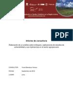 Programa ACC 2012 Linea de Base Analisis de Vulnerabilidad Peru