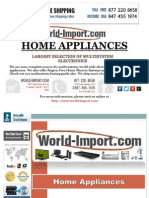 Home Appliances From World-Import.com