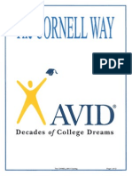 avid cornell way handouts all