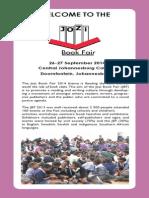 Jozi Book Fair 26-27 September, Central Johannesburg College, Ellis Park