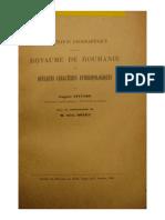 Donici_Pittard_Repartition Geographique Dans Le Royaume de Roumanie de Quelques Caracteres Anthropologiques_1926