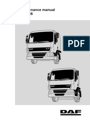 DAF Maintenance Manual LF45_LF55 | Transmission (Mechanics
