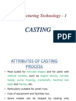 Casting and Patterns