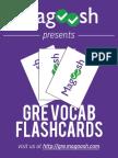 Magoosh Vocab Flashcard eBook