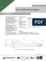 3042-9 Lo Ex Foam Branchpipes