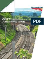 Network Rail Sustainability Update 2014