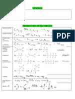 Equations Chem HSC