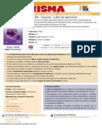 Prisma B2 - Avanza - Libro de Ejercicios