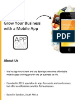 App Your Event Brochure