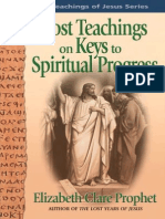 Lost Teachings of Jesus 3 Keys to Spiritual Progress Sample