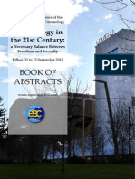 Book of Abstracts EUROCRIM 2012 533