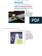 Print - Know Your Stuff_ the 110 Best DIY Tips Ever - Popular Mechanics