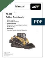 ASV RC100 Service Manual