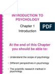 Intro to Psychology