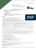 ISPnub - Stand-Alone AVR in-System-Programmer Module - Fisch
