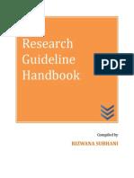 Research Methodology Handbook