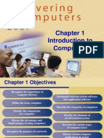 Chapter 01 Introduction to Computers