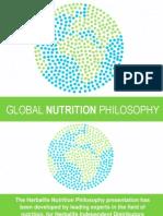 Global Nutrition Philosophy PDF