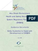 AD EHSMS Guideline - Entity Guideline to Assist With Development of EHSMS Latest