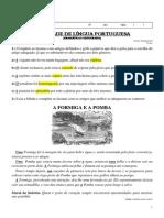Gabarito Ativ Ling Port Artigo Professora Eliana-SextoAno