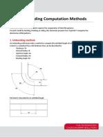 TS7 Unfolding Computation Methods