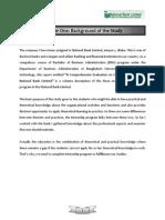 Internship Report of National Bank