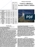 Várak És Vulkánok a Karancs-Medves Vidékén igazolófüzet